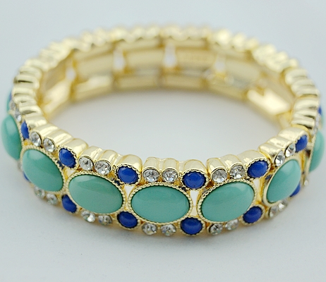 Fashion Stretch Classic Blue Bracelet