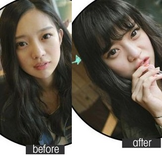 Korea Cute Cawaii Airy Fringe Airy Wig Natural Wig MVOLM
