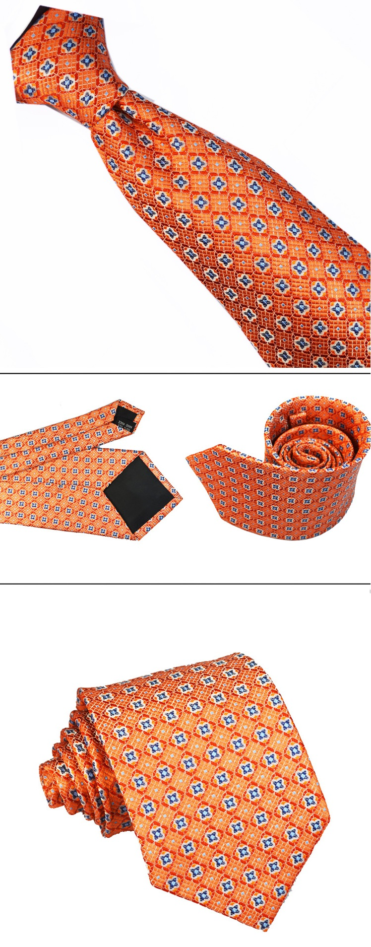Classic Boutique Hand Made Silk Necktie Men Tie 6