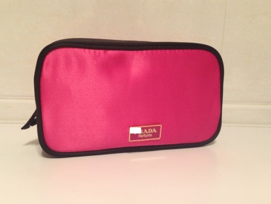Rose Red Miss Candy Luxurious Cosmetic Bag