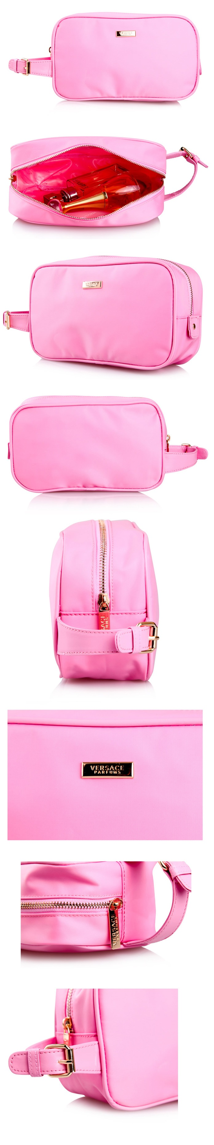 SALES Classic Pink Cosmetic Bag Hand Carry Clutch