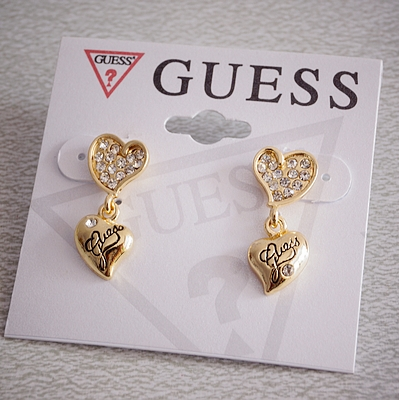 Gorgeous Exquisite Love Earrings GOLD