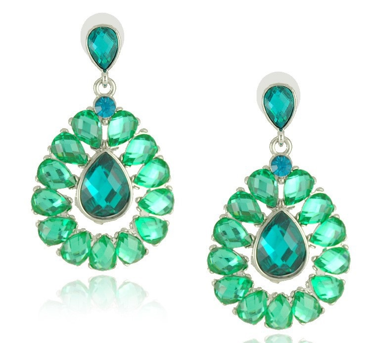 Stunning Sparkling Crystal Earrings