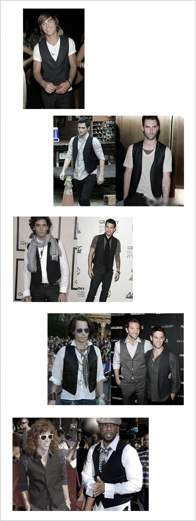 Men Handsome Celebrities Coat