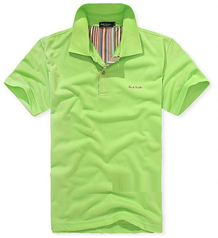 Clearance Christmas Men Casual Short sleeve Polo T-shirt GREEN TOMMY Size:M