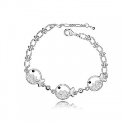Cute Fish Princess Birthday Gift Bracelet