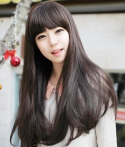 Sweet Princess Korea Volume Fluffy Straight Hair Wig