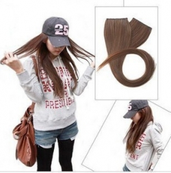 Straight Hair Wig Clip LIGHTBROWN