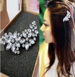 Korea Diamond Noble Hair Clip