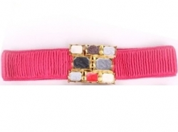 Korea Girdle Gems Belt ROSE