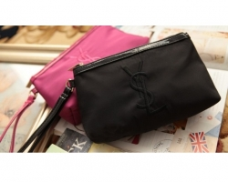 Classic Logo Cosmetic Pouch BLACK