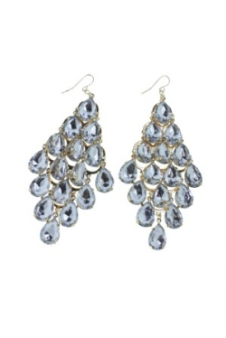 Clearance Gorgeous Diamond Bling Bling Earrings