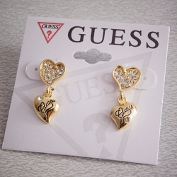 SALES G Exquisite Love Earrings GOLD