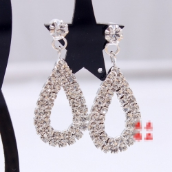 Clearance Bridal Theatrical Water Drop Earrings