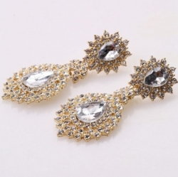 Clearance Korean Luxury Full Diamond Stud Earrings