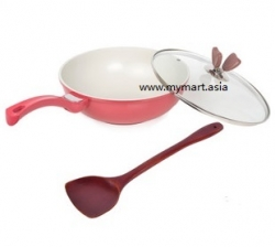 Healthy Fumesless Nano Nonstick Frying Pan