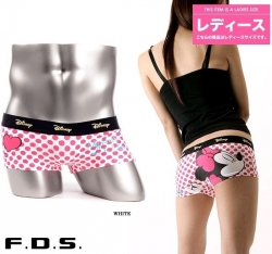 SALES Mic Dot Lycra Cotton Couple Underwear Lady Underwear