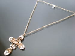 F21 Inspired Vintage retro cross special necklace