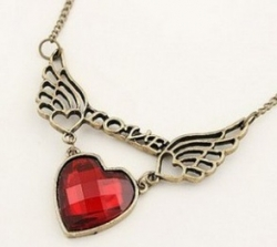 Korea Love Wings Of Love Necklace