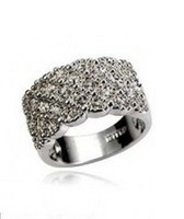 Clearance Korean Luxury Sparkling Diamond Ring