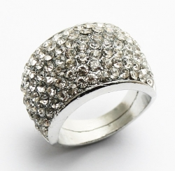 Hyori Full Diamond Ring SILVER