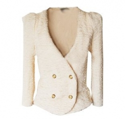 Clearance Korea nanda Elegant Slim Short Jacket Coat