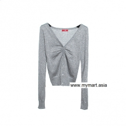 Must Have edc Grey Bling Bling Gorgeous Cardigan