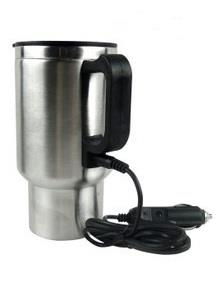 CAR STAINLESS STEEL HEATER MUG 450ML